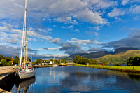 Caledonian Canal Corpach Photo