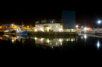 Peterhead Harbour Night Photo