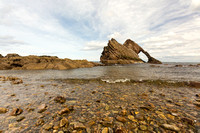 Portknockie Bow Fiddle Rock Photo