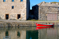 Portsoy Red Boat Photo